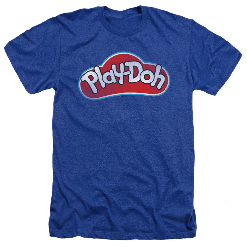 Image for Play Doh Heather T-Shirt - Blue Lid