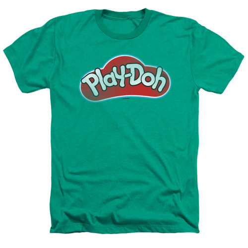 Image for Play Doh Heather T-Shirt - Green Lid
