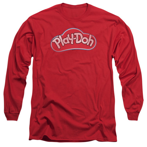 Image for Play Doh Long Sleeve T-Shirt - Red Lid