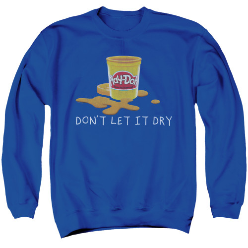 Image for Play Doh Crewneck - Dry Out