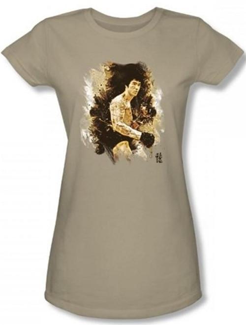 Image for Bruce Lee Girls T-Shirt - Intensity T-Shirt