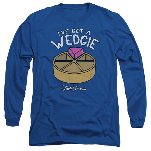 Image for Trivial Pursuit Long Sleeve T-Shirt - Wedgie