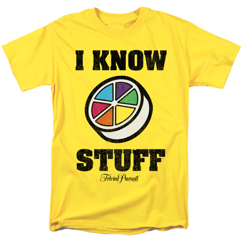 Image for Trivial Pursuit T-Shirt - I Know Stuff