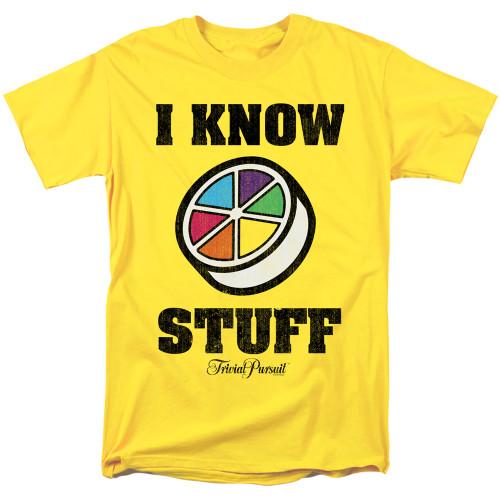 Image for Trivial Pursuit T-Shirt - I Know Stuff