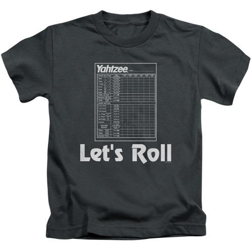 Image for Yahtzee Kids T-Shirt - Let's Roll