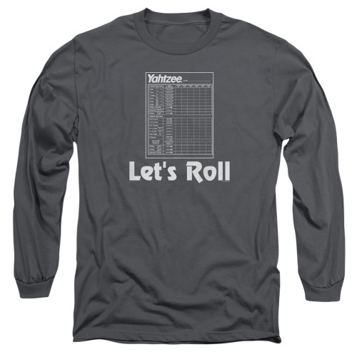 Image for Yahtzee Long Sleeve T-Shirt - Let's Roll