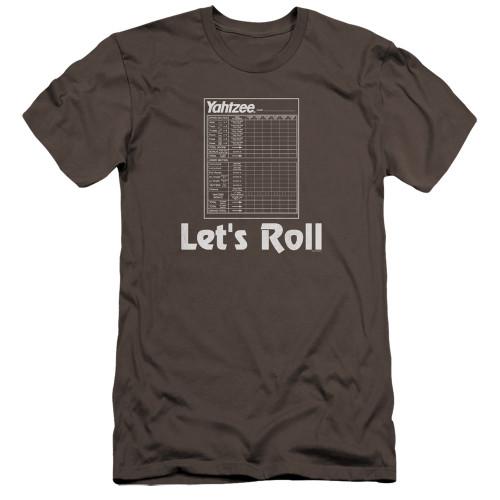 Image for Yahtzee Premium Canvas Premium Shirt - Let's Roll