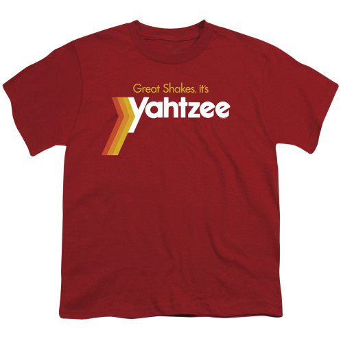 Image for Yahtzee Youth T-Shirt - Great Shakes