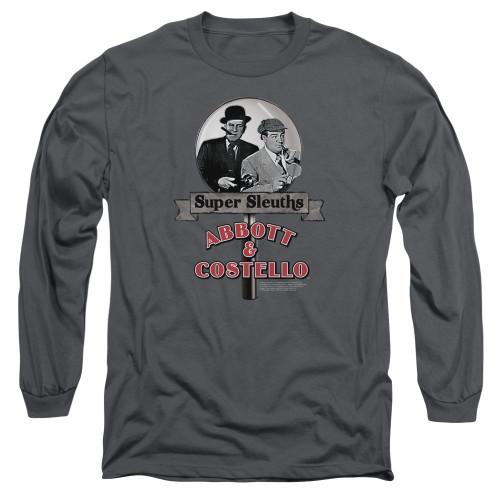 Image for Abbott & Costello Long Sleeve Shirt - Super Sleuths