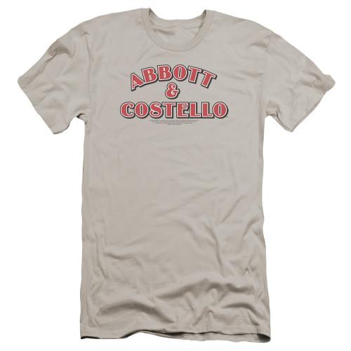 Image for Abbott & Costello Premium Canvas Premium Shirt - Logo