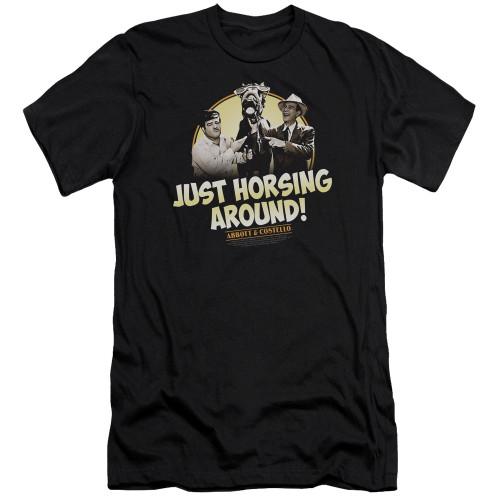 Image for Abbott & Costello Premium Canvas Premium Shirt - Horsing Around