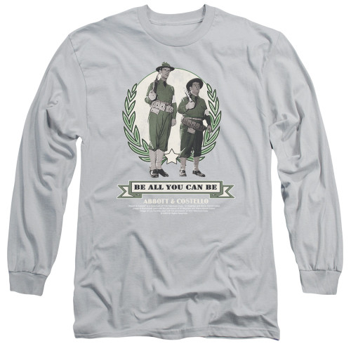 Image for Abbott & Costello Long Sleeve Shirt - Be All You Can Be