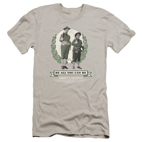 Image for Abbott & Costello Premium Canvas Premium Shirt - Be All You Can Be