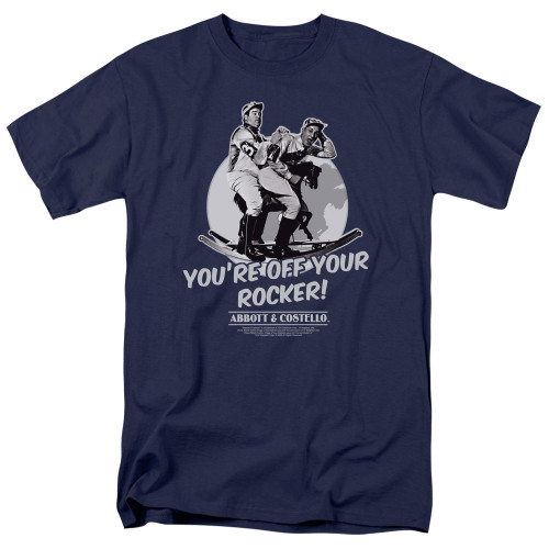 Image for Abbott & Costello T-Shirt - Off Your Rocker
