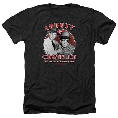 Image for Abbott & Costello Heather T-Shirt - Bad Boy