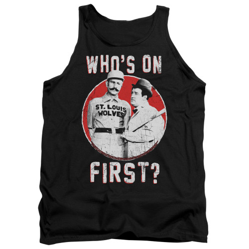 Image for Abbott & Costello Tank Top - First