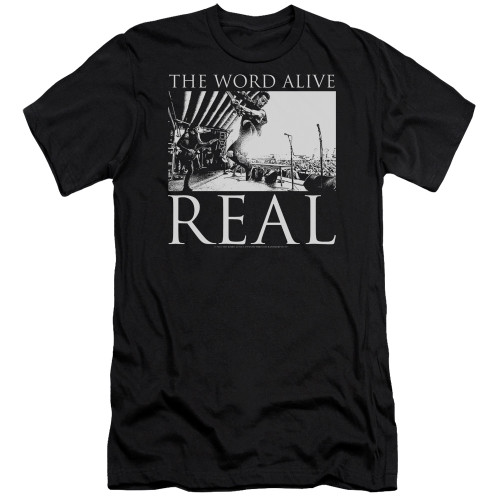 Image for The Word Alive Premium Canvas Premium Shirt - Live Shot