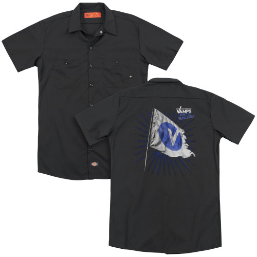 Image for The Vamps Dickies Work Shirt - Flag