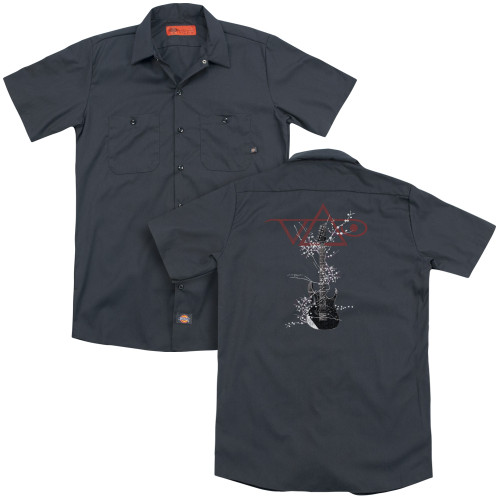 Image for Steve Vai Dickies Work Shirt - Vai Axe