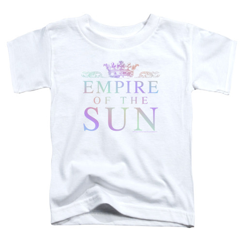 Image for Empire of the Sun Toddler T-Shirt - Rainbow Logo