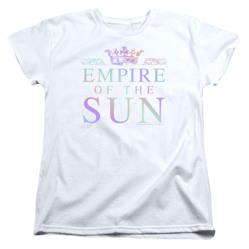 Image for Empire of the Sun Woman's T-Shirt - Rainbow Logo
