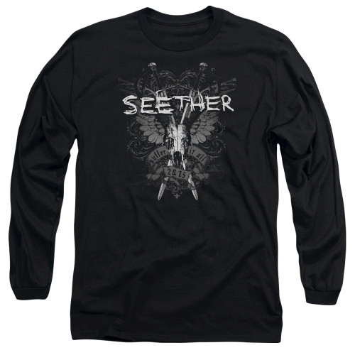 Image for Seether Long Sleeve T-Shirt - Suffer