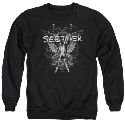 Image for Seether Crewneck - Suffer
