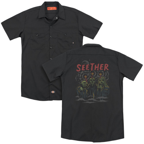 Image for Seether Dickies Work Shirt - Mind Control