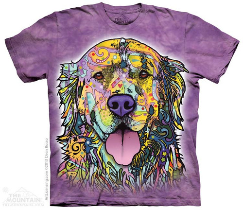 Image for The Mountain T-Shirt - Russo Golden Retriever