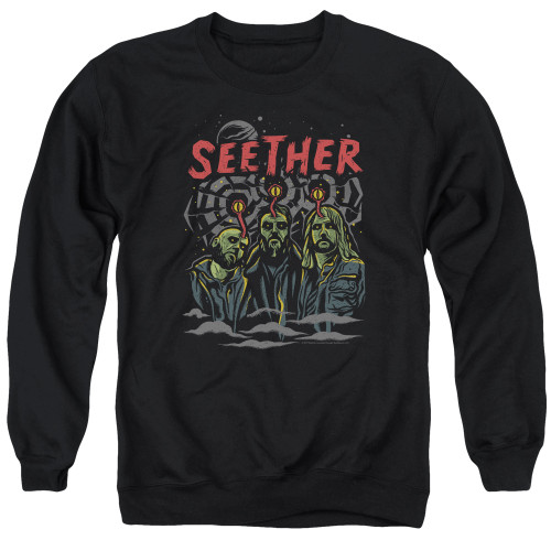 Image for Seether Crewneck - Mind Control