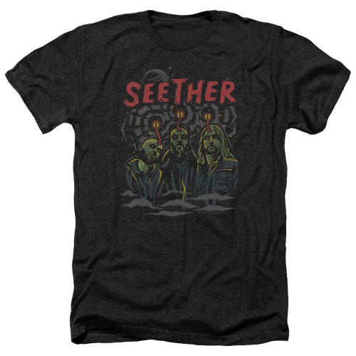 Image for Seether Heather T-Shirt - Mind Control