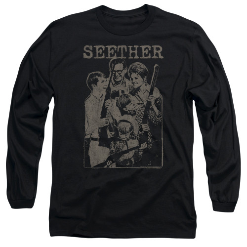 Image for Seether Long Sleeve T-Shirt - Happy Family