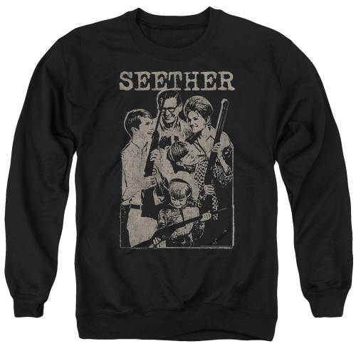 Image for Seether Crewneck - Happy Family