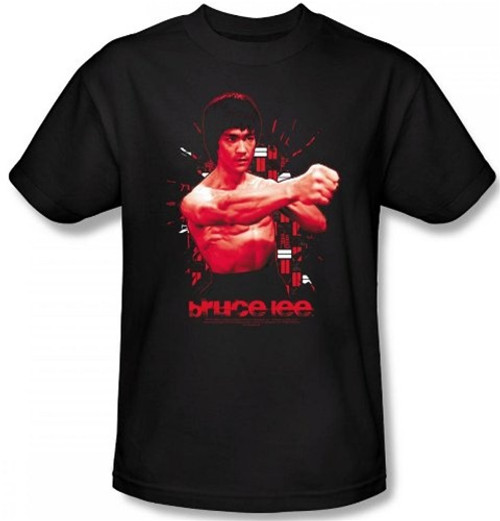 Image Closeup for Bruce Lee T-Shirt - The Shattering Fist