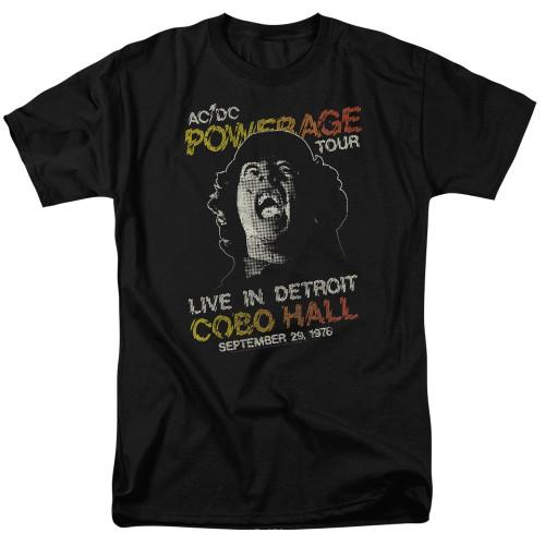 Image for AC/DC T-Shirt - Powerage Tour