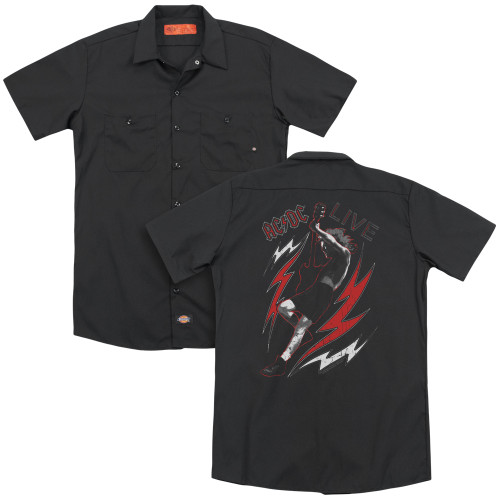 Image for AC/DC Dickies Work Shirt - Live