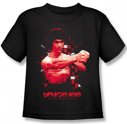 Image for Bruce Lee Kids T-Shirt - The Shattering Fist