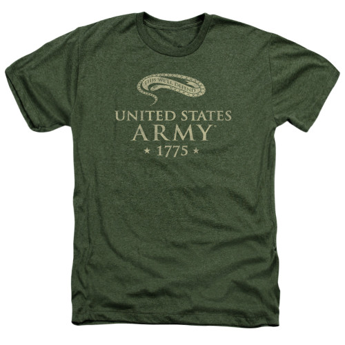 Image for U.S. Army Heather T-Shirt - This We'll Defend