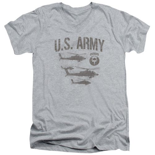 Image for U.S. Army V Neck T-Shirt - Airborne
