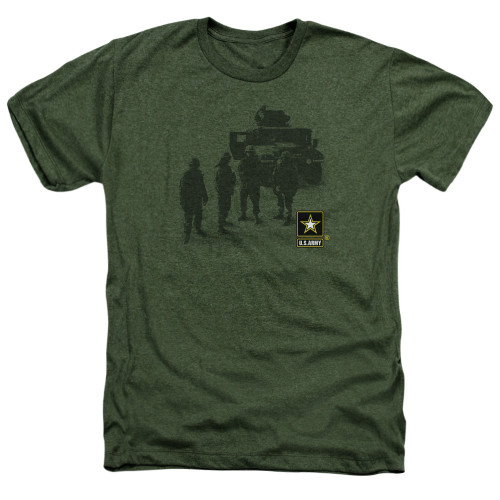 Image for U.S. Army Heather T-Shirt - Strong