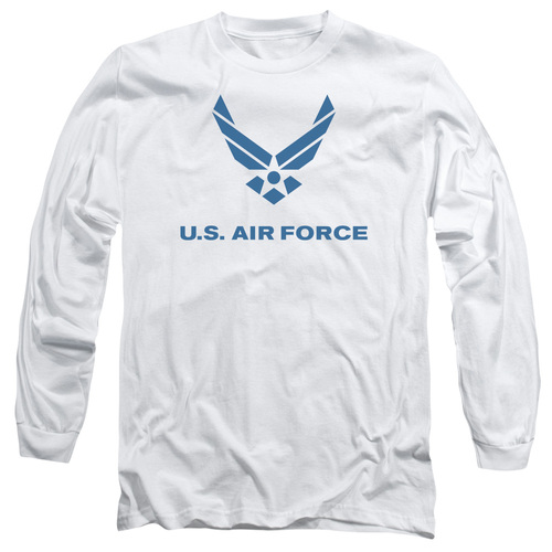Image for U.S. Air Force Long Sleeve Shirt - Distressed Logo