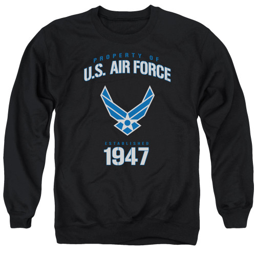 Image for U.S. Air Force Crewneck - Property of the United States Air Force