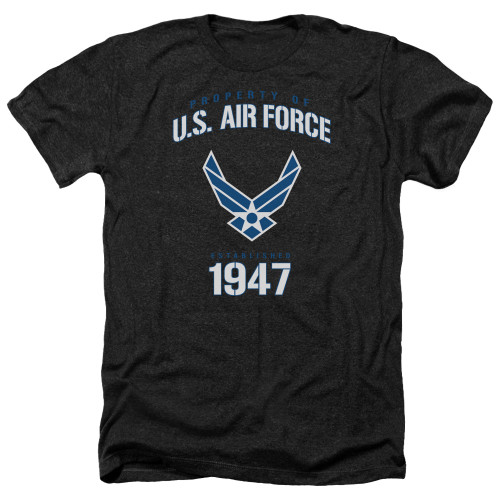 Image for U.S. Air Force Heather T-Shirt - Property of the United States Air Force