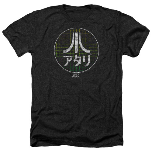 Image for Atari Heather T-Shirt - Japanese Grid