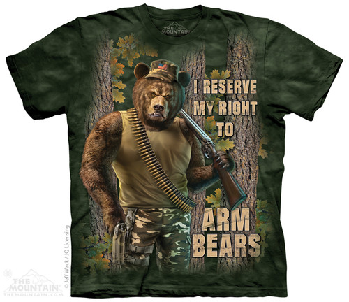Image for The Mountain T-Shirt - Arm Bears