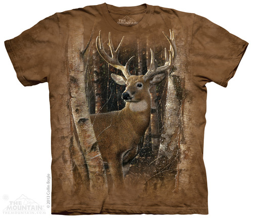 Image for The Mountain T-Shirt - Birchwood Buck