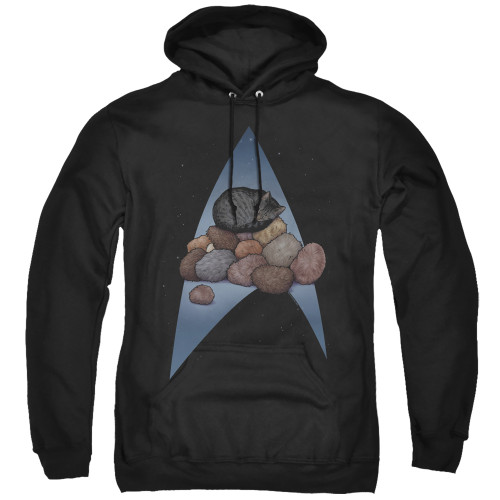 Image for Star Trek Cats Hoodie - Five Year Nap