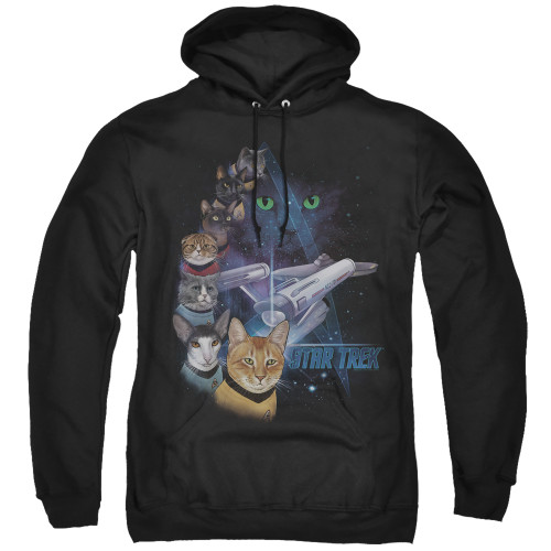 Image for Star Trek Cats Hoodie - Feline Galaxy