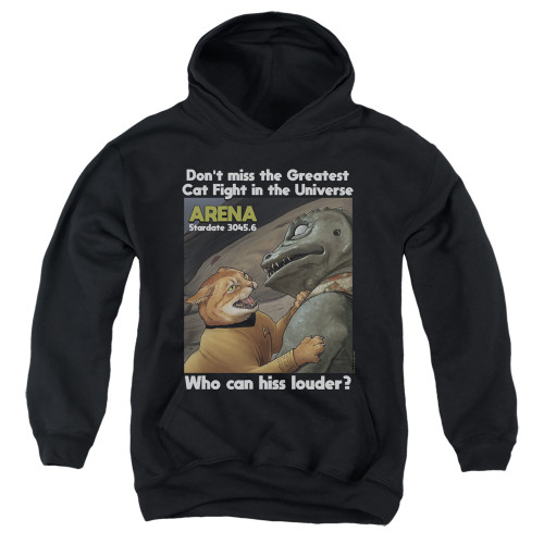 Image for Star Trek Cats Youth Hoodie - Cat Fight