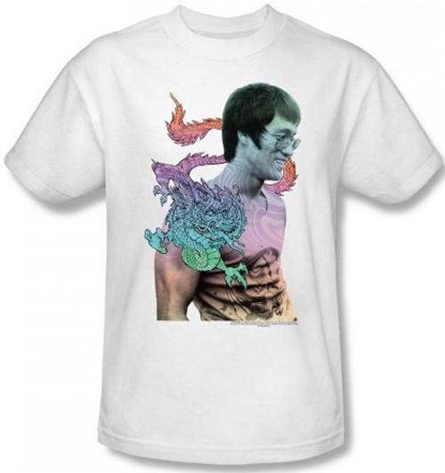 Image Closeup for Bruce Lee T-Shirt - A Little Bruce